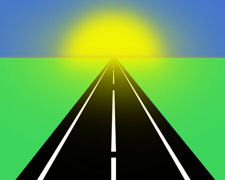 dead end: Dead end road.