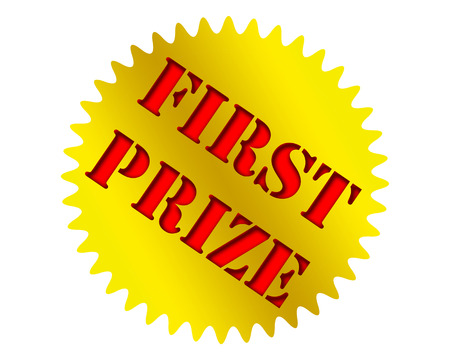 the first prize: First prize icon.