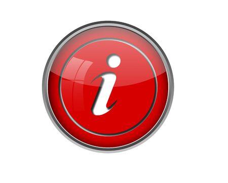 information button: Information button. Stock Photo
