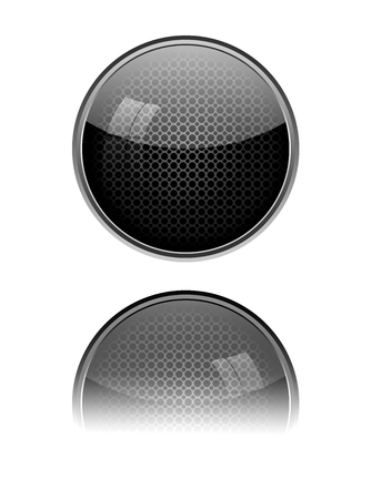 blank button: Blank button illustration. Stock Photo