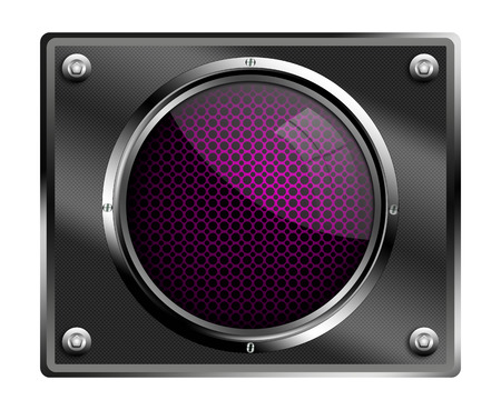 blank button: Blank button illustrations. Stock Photo