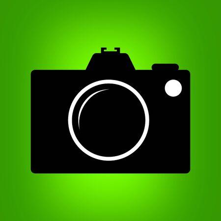 Camera icon. photo