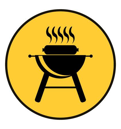 BBQ icon.