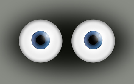 a pair of: Pair of eyes.