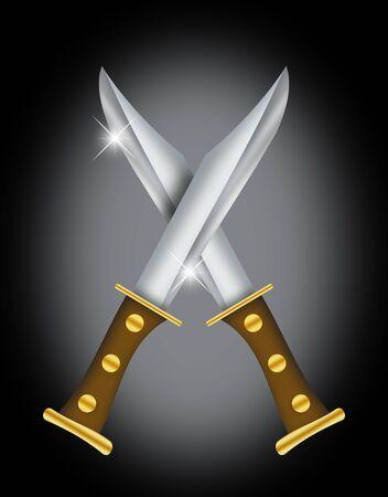 dagger: Dagger illustration.