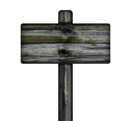 old sign: Old wooden sign