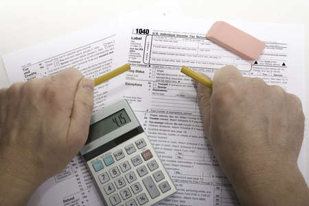 due date: Frustration over completing taxes with due date shown on calculator