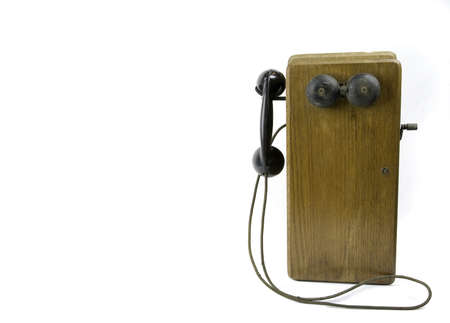 receiver: Antique Telephone