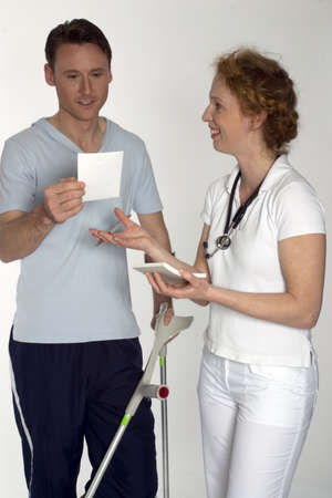 surgent: Doctor and Patient - Medical care Stock Photo