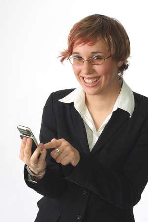 Young Business Manager - Business-Frau Standard-Bild - 2818987