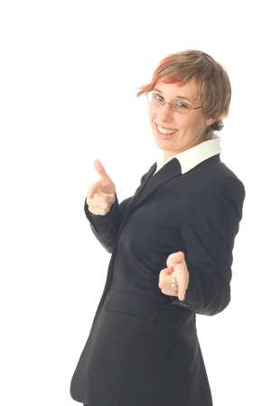 Young Business Manager - Business-Frau Standard-Bild - 2818977