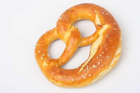 Pretzel and bread