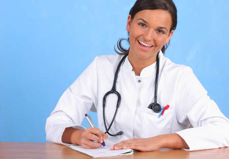 doctor writing prescription Stock Photo - 5057176