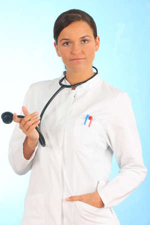 surgent: doctor looking at camera