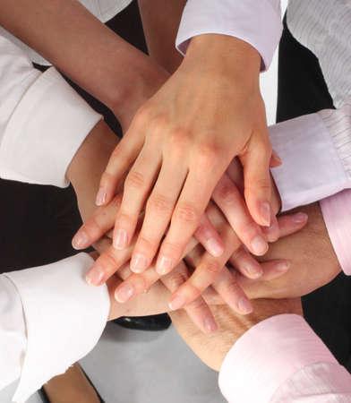 businessteam: dynamic businessteam hands