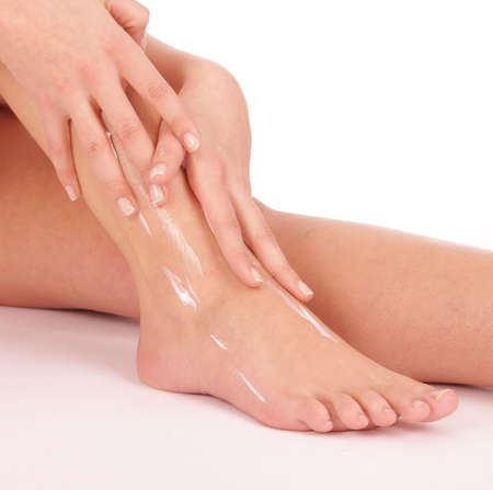footcare: footcare Stock Photo