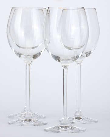 wine glasses Фото со стока