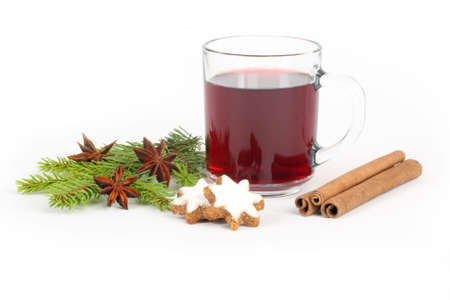 star anise: hot wine punch,star anise and cookies - xmas