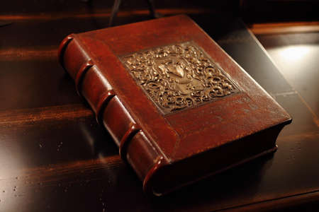 middle ages: Old book - Middle Ages