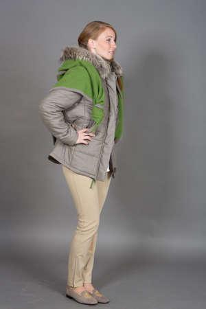 winter fashion: Woman Portrait - Winter Fashion