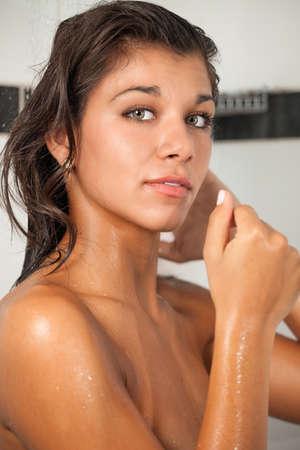 greeneyes: Woman Portrait Stock Photo