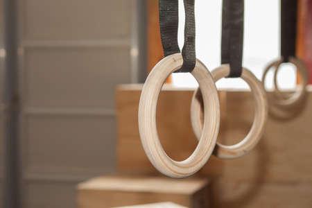 gymnastics equipment: Gymnastics Rings
