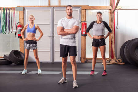 Fitness people - Group Stock Photo