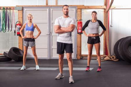 Fitness people - Group Фото со стока