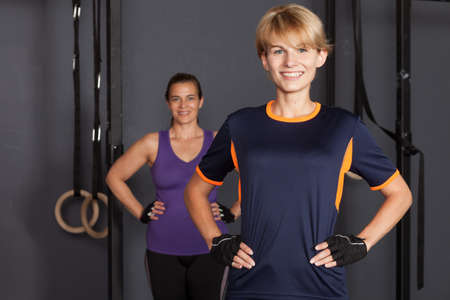 sport woman: sport woman looking at camera