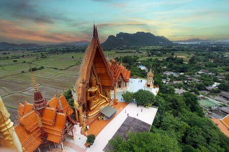 kanchanaburi: tumsuae temple kanchanaburi Thailand