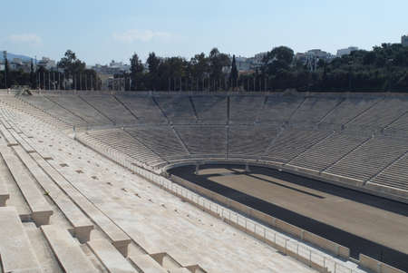 olympic stadium: Old Olympic Stadium, Panathenaic Editorial