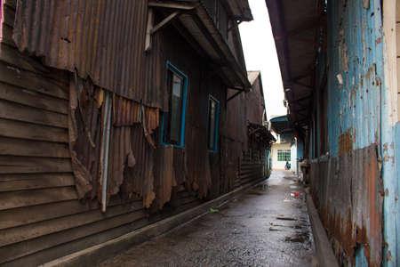 malay village: Old fashion kampong housing