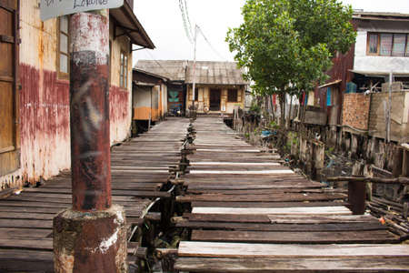 malay village: