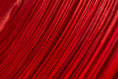 fineart: Red cloth texture Stock Photo