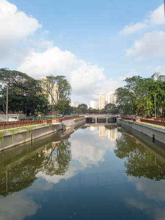 sg: Canal stock photo