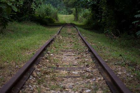 오래된 철도 길목