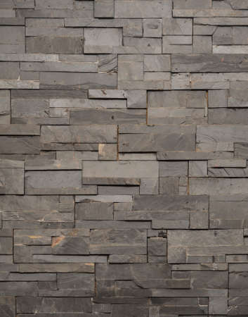dark grey stone tile texture brick wall surfaced Stock Photo - 9353224