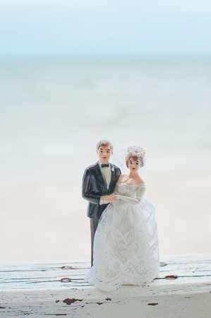 wedding doll  photo