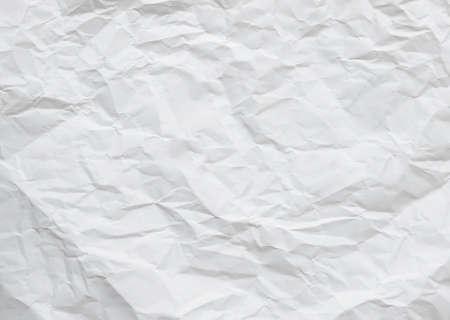 wrinkled paper: wrinkled paper for background Stock Photo
