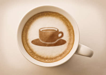 coffee cup coffee art photo