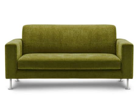 sofa furniture isolated on white background Stock Photo - 12320743