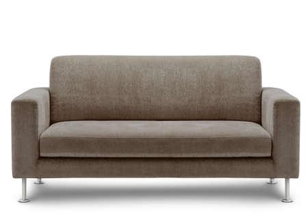 sofa furniture isolated on white background Фото со стока