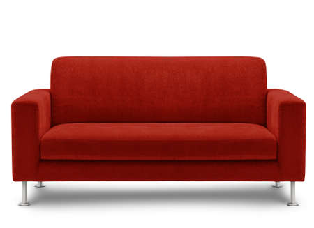 sofa furniture isolated on white background Stock Photo