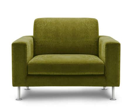 sofa furniture isolated on white background Stock Photo - 12314503