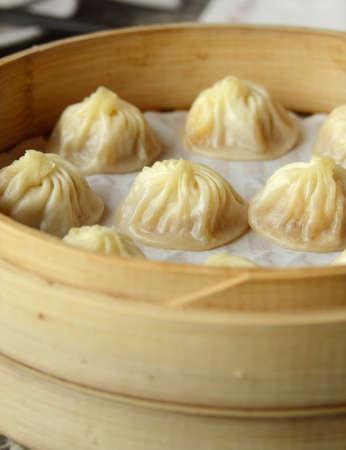 dim sum: chinese food, small pork bun, dim sum