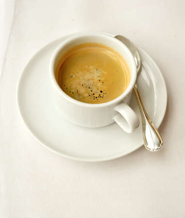capuccino: espresso coffee cup Stock Photo