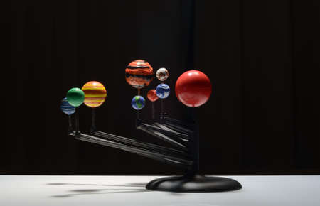 galaxy plastic model Stock Photo - 15878243