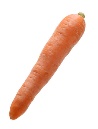 carrot isolated on white background Stock Photo - 21097262