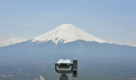 fuji san: Fuji San, Mountain with telescope