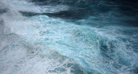 sea wave, close up Stock Photo